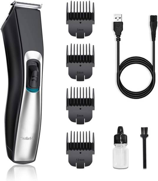 Perfect Nova (Device Of Man) PN-129-C-00- (Perfect Nova Hair Trimmer Clipper ) Cordless Hair Trimmer for Men Hair Cutting Machine USB Rechargeable IPX7 Waterproof.  Runtime: 60 min Grooming Kit for Men