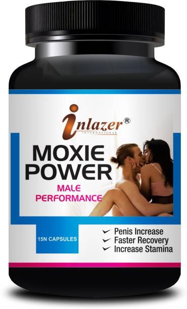 inlazer Moxie Power Sex Time Badhane Ki Dawa/ Sexual Power Booster Tablets 100% Ayurvedic