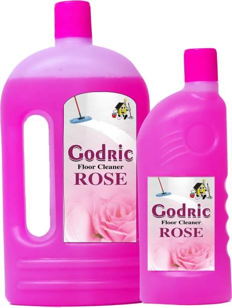 Godric ROSE FLOOR CLEANER 1LT + 500ML ROSE FLAVOUR