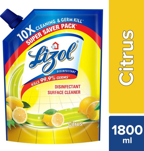 LIZOL Disinfectant Surface Cleaner Refill Pack Citrus