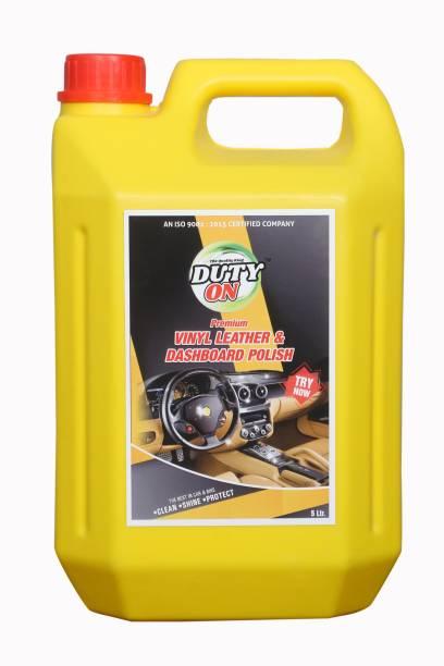 DUTYON Liquid Car Polish for Dashboard, Leather, Exterior