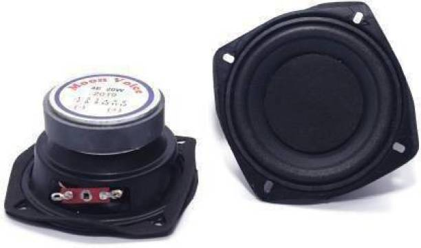 Zengvo 4 for Flat Sub Woofer 4 Inch Powerful Subwoofer 4 Ohm 20Watt Subwoofer