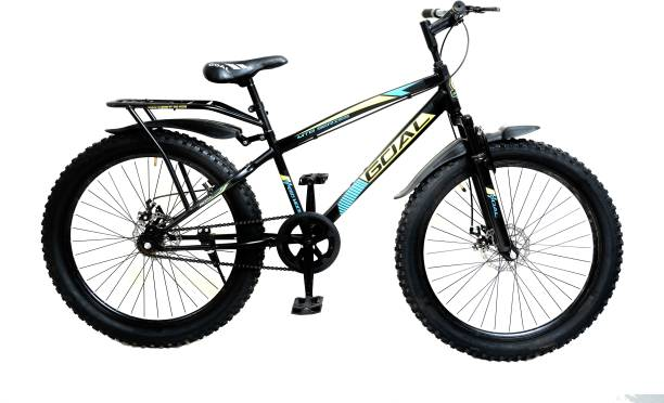 Goal fat tyre cycle with inbult carrier MTB 26X300 26 T Fat Tyre Cycle