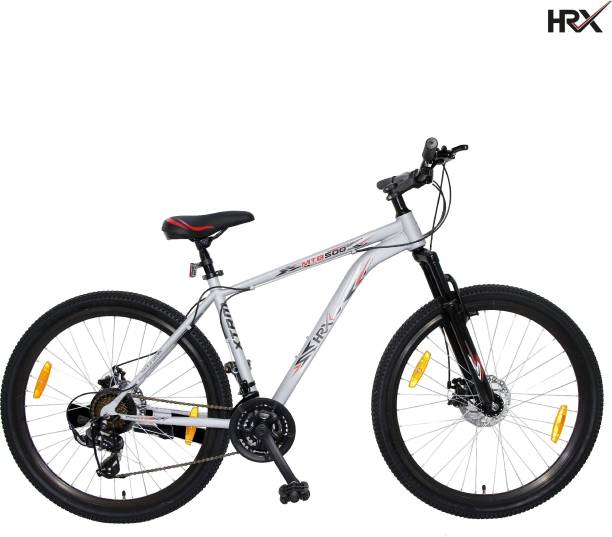 HRX XTRM MTB 500 85% Assembled with Front Suspension 27.5 T Mountain Cycle