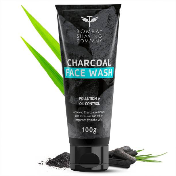 BOMBAY SHAVING COMPANY Blackhead Removal, Deep Cleansing & De-Tanning Charcoal  Face Wash