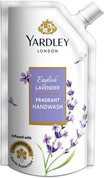 YARDLEY English lavender 800ml pack ,of 1t Hand Wash Pouch