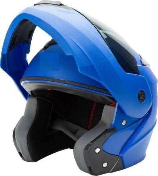 JBRIDERZ FLIP UP HELMET BLUE Motorbike Helmet