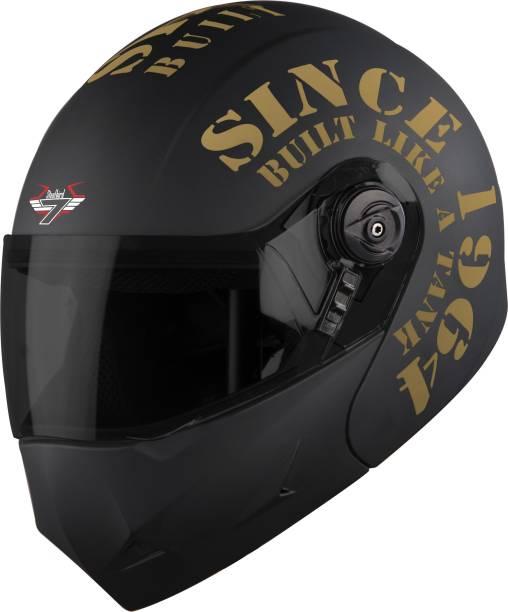 Steelbird SB-45 7Wings Award Tank Flip Up Graphic Helmet Motorbike Helmet