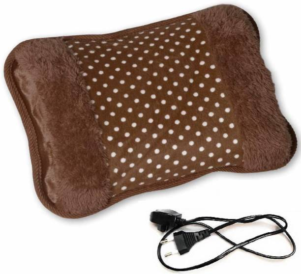 WBQ Velvet Pocket Heat Pad Electric Hot Water Bag HOT WATER BAG FOR MASSAGE BODY Electric Hot Water Bag 950 ml Hot Water Bag
