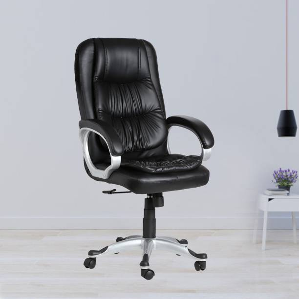 VJ Interior Leatherette Office Arm Chair