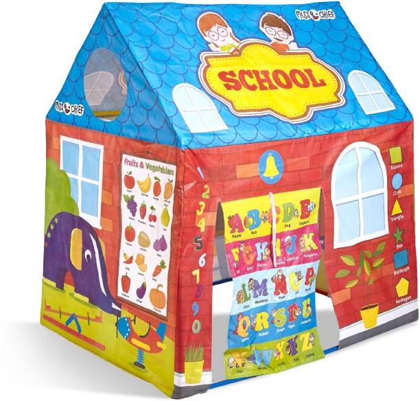 Miss & Chief Play tent house for kids in school theme