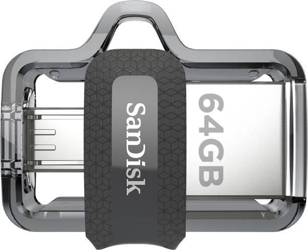 SanDisk Ultra Dual SDDD3-064G-I35 64 GB OTG Drive