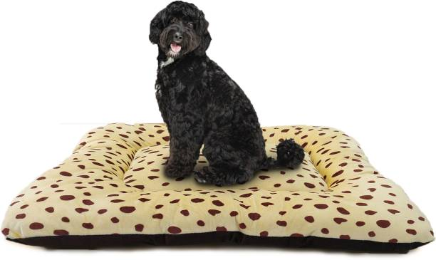 Flipkart Perfect Homes Studio Reversible Dual Color Ultra Soft Dotted for Dogs and Cats XXL Pet Bed