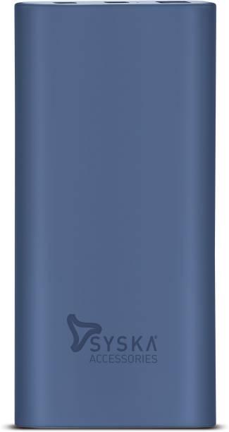 Syska 10000 mAh Power Bank (18 W, Fast Charging)