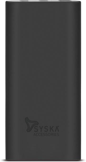 Syska 10000 mAh Power Bank (18 W, Quick Charge 3.0, Power Delivery 2.0)