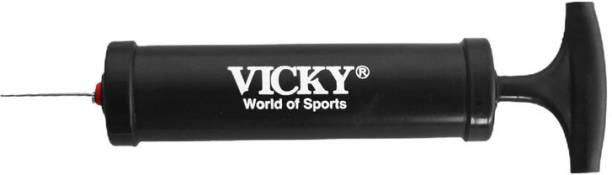 Vicky Ball Pump, Black Football Pump Pump