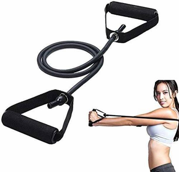Honoty Single Resistance Bands Rubber Strauss Toning Tubes Exerciser Resistance Tube Resistance Tube