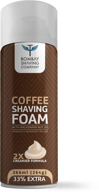 BOMBAY SHAVING COMPANY Coffee & Macadamia Seed Oil Shaving Foam, 264g