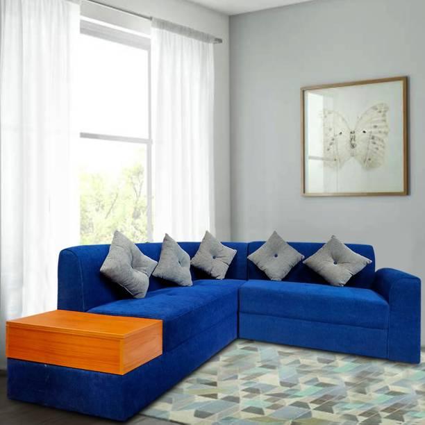 Flipkart Perfect Homes Avira Fabric 5 Seater  Sofa