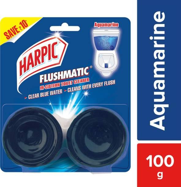 Harpic Flushmatic Aquamarine Rim Block