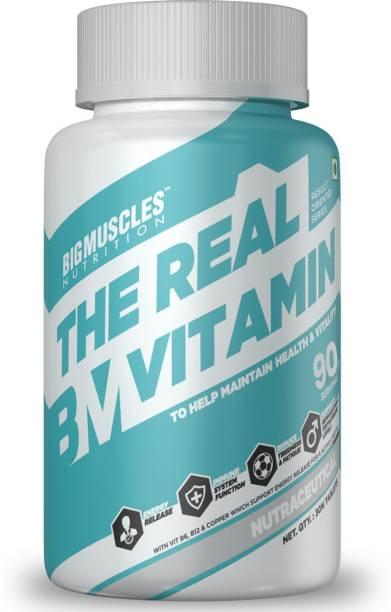 BIGMUSCLES NUTRITION The Real Vitamin Advanced | Multivitamins, Multiminerals