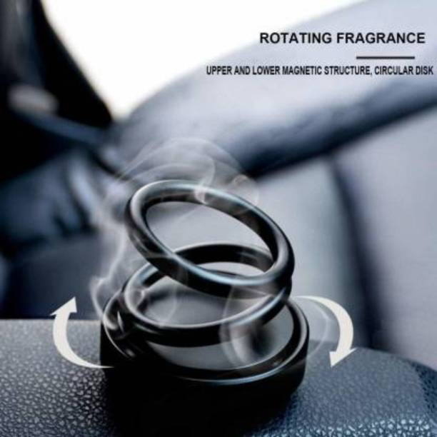 Pepino Solar Car Aromatherapy Essential Oil Diffuser, 360°Double Ring Rotating Design, Car Perfume Air Purifier Car Fragrance Decompression Toy for Home Car Office P101-SHI-AAAL--122-1-999 Air Purifier
