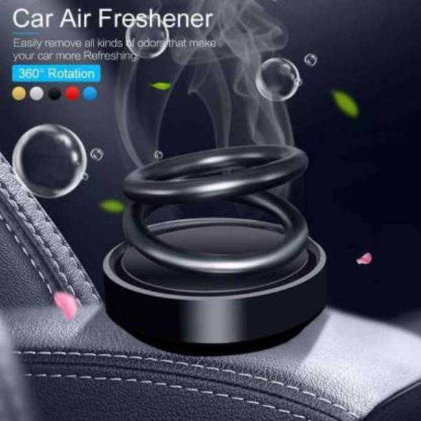 Pepino Duarble Solar Car Aromatherapy Essential Oil Diffuser, 360°Double Ring Rotating Design, Car Perfume Air Purifier Car Fragrance Decompression Toy for Home Car Office P101-SHI-AAAL--122-1-999 Air Purifier
