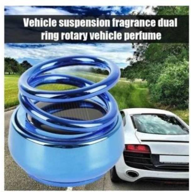 Pepino Quality Solar Power Rotating Car Air Freshener Perfume, with Organic Fragrance P101-SHI-AAAL--122-1-999 Air Purifier
