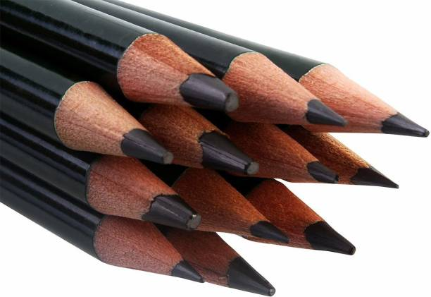 Funity 12 Artist Quality Fine Art Drawing & Sketching Pencils (2H-12B),