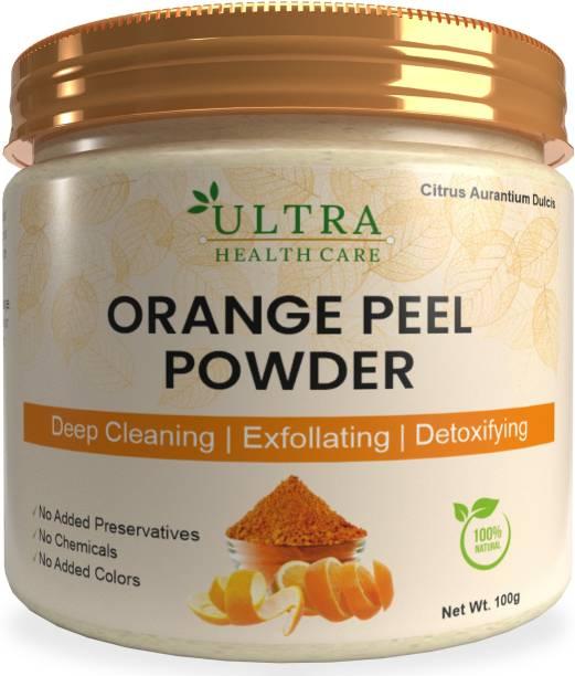 Ultra Healthcare Orange Peel Powder ,Santra Powder , Skin Care , Acts as natural sun tan remover, natural skin toner, skin lightening & brightening agent.