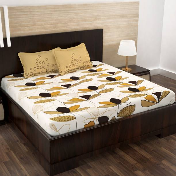Story@home 152 TC Cotton Double Printed Bedsheet