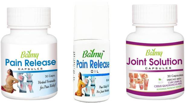Balmy PAIN's COMPLETE PACK Capsules