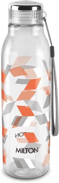 MILTON Helix 1000 Pet Water Bottle, 1 Piece, 1 Litre, Orange 1000 ml Bottle