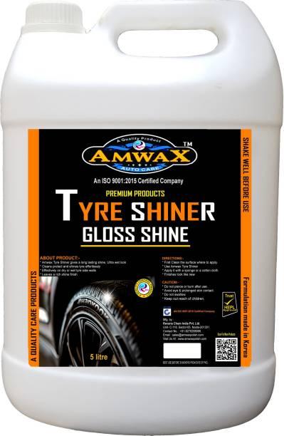 amwax Liquid Car Polish for Tyres