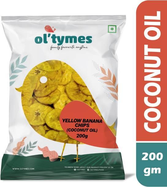 Ol'tymes Kerala Yellow Banana (Coconut Oil) Chips