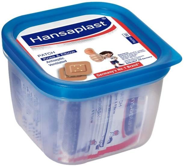 HANSAPLAST Antiseptic Vantilated all purpose Patch (50 streeps) Bandage Protector Crepe Bandage