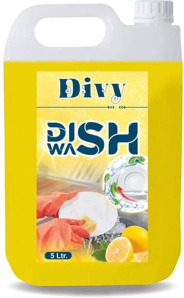 Divy 5 liter Dish_washing_detergent (5l) Dishwashing Detergent (5 L) Dishwash Bar