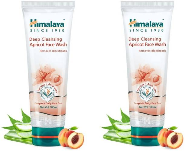 HIMALAYA Deep Cleansing Apricot  100ml ( pack of 2 ) Face Wash