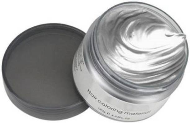 ShopCircuit Temporary Hair Color Wax Silver Hair Wax