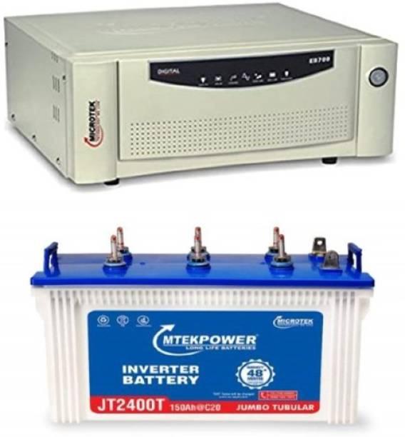 Microtek JT2400T+ EB700 Tubular Inverter Battery