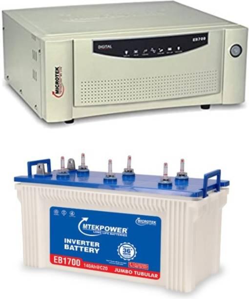 Microtek EB1700+ EB700 Tubular Inverter Battery