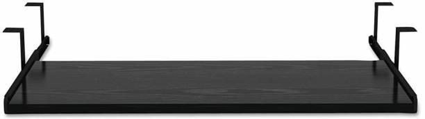 UniShop Wooden Keyboard Tray Under Desk Adjustable for Office/Home Desk (Wenge, 24 x 11 Inch) Keyboard Tray
