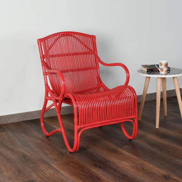 @Home by nilkamal Cane Living Room Chair