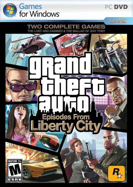 Grand Theft Auto GTA : Episodes from Liberty City (DVD)