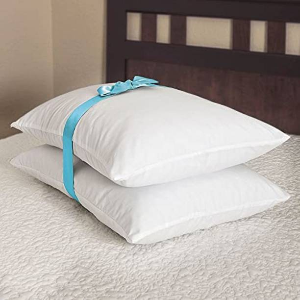 ROYALREOX Microfibre Solid Sleeping Pillow Pack of 2