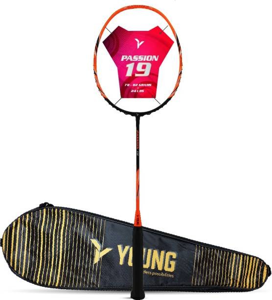 Young Passion 19 (Ultra Graphite) Orange Unstrung Badminton Racquet