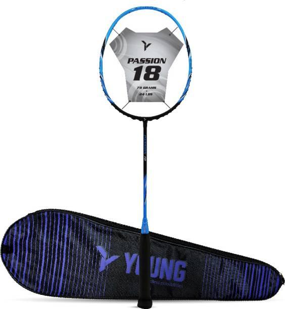 Young Passion 18 (Ultra-Graphite) Blue Unstrung Badminton Racquet