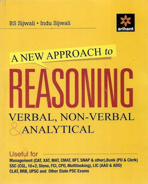 A New Approach To Reasoning Verbal, Non- Verbal Analytical English Version