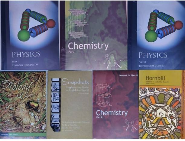 NCERT Textbook For Class 11th ( Physics, Chemistry, Biology, English ) Complete Books Set For 11th , English Medium , Paperback Binding