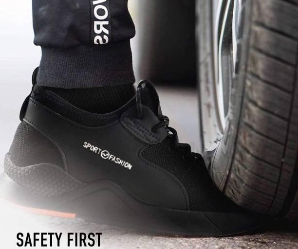 CRISTAL SHOE SAFETY-01 Steel Toe Mesh Safety Shoe